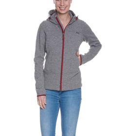 Tatonka Lakho Hooded Jacket Women pebble grey
